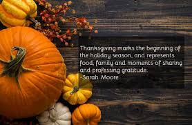 Happy Thanksgiving Day 2018 Sayings