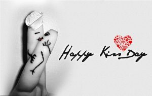 Happy Kiss day Instagram captions | Kiss Day romantic status for Whatsapp